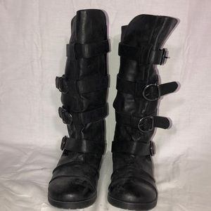 Decree Boots With Straps Womens Size 7